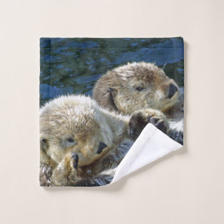 Sea-otters Wash Cloth