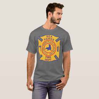 Sea Parks Fire Department (dark grey) T-Shirt