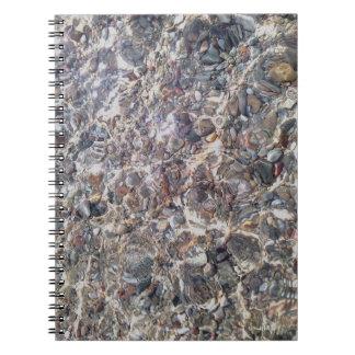 Sea pebbles Underwater Photo Notebook
