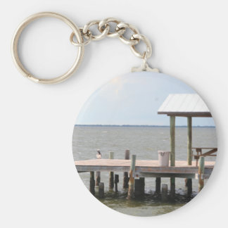 Sea Pier keychain