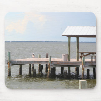 Sea Pier mousepad