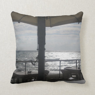 sea pillow summer sunset by lucky karma