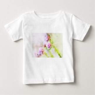 Sea Pink Flower Baby T-Shirt