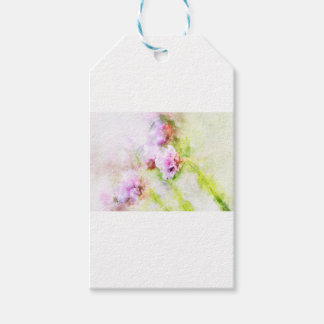 Sea Pink Flower Gift Tags