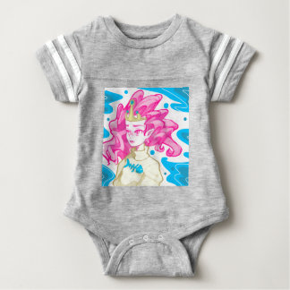 Sea princess baby bodysuit