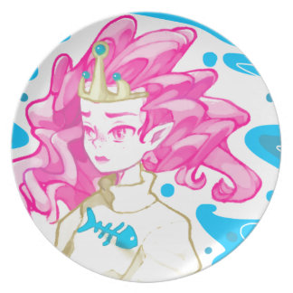 Sea princess dinner plate