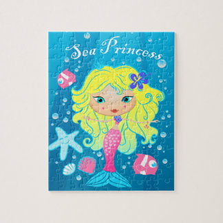 Sea Princess Jigsaw Puzzle