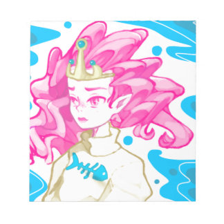 Sea princess notepad