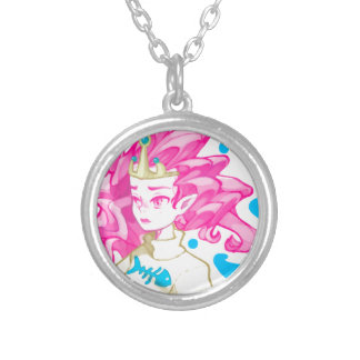 Sea princess silver plated necklace