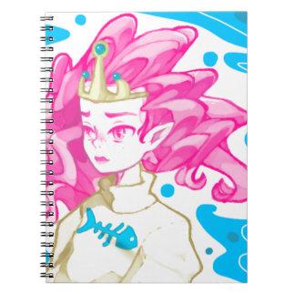 Sea princess spiral note books