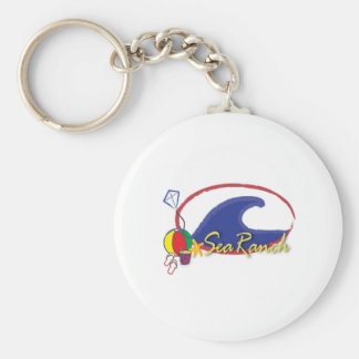Sea Ranch Logo Keychain