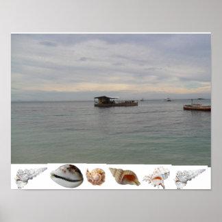Sea Restaurant Malapascua Cebu Philippines Poster