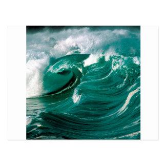 Sea Roughs Ahead Postcard