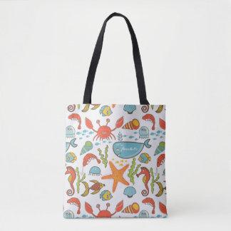 Sea Sally Tote Bag