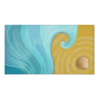Sea, Sand and Shell Poster