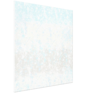 Sea Sand, and Sky Blue Beige Abstract Canvas Print