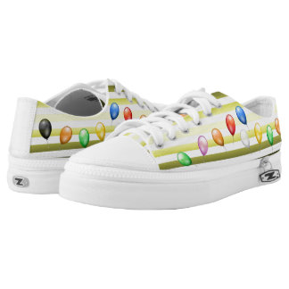 Sea & Sand ~ Beach Party Time ~ Music ~ Swimming ~ Low-Top Sneakers