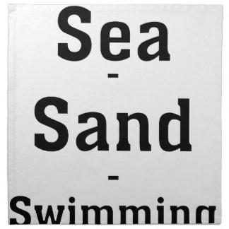 Sea - Sand - Swimming Napkin