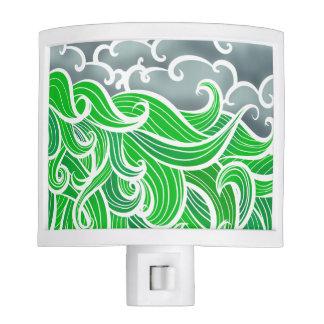Sea-scape Illustration Night Light