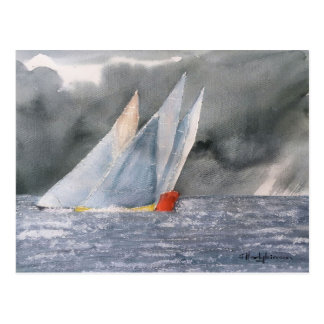 SEA SCAPE YACHTS POST CARD