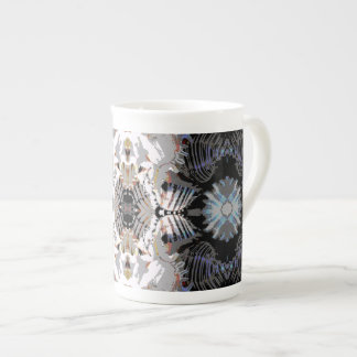 Sea Shell Abstract Pattern Tea Cup