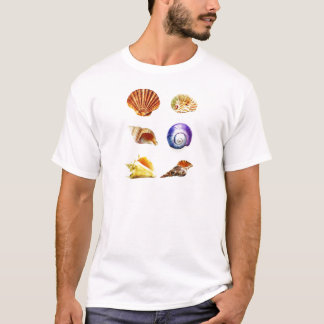 sea shell design bright and colourful T-Shirt