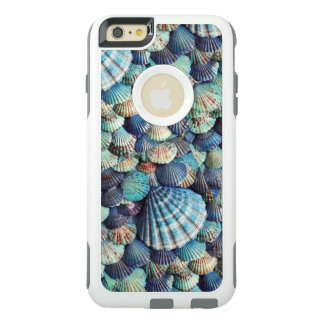 Sea Shell Image, Shells in Blues OtterBox iPhone 6/6s Plus Case
