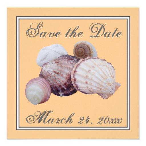 Sea Shell Invitation