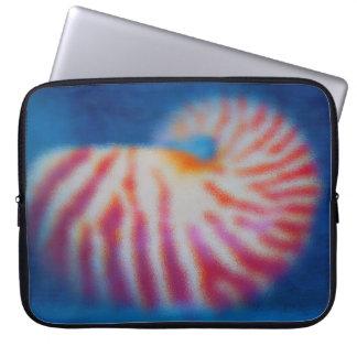 Sea Shell Laptop Computer Sleeve
