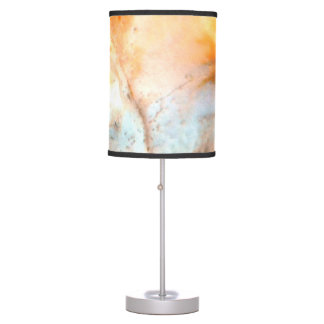 Sea Shell Swirls Lampshade 1 Table Lamp