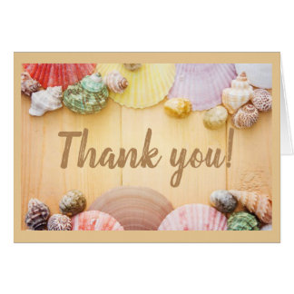 Sea Shell/Thank You Note Card