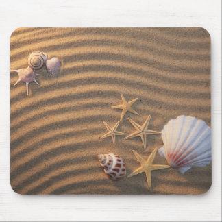 Sea Shells And Starfish Mouse Pad