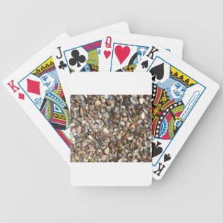 Sea shells bicycle playing cards