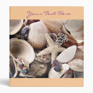 Sea Shells Binder