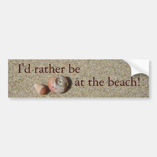 Sea Shells Bumper Stickers