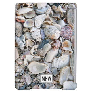 Sea Shells custom monogram device cases iPad Air Case