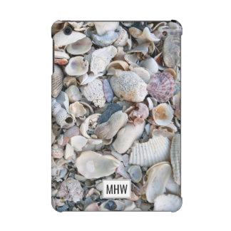 Sea Shells custom monogram device cases iPad Mini Cover