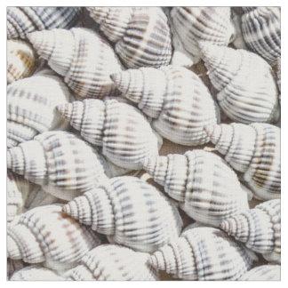sea shells fabric