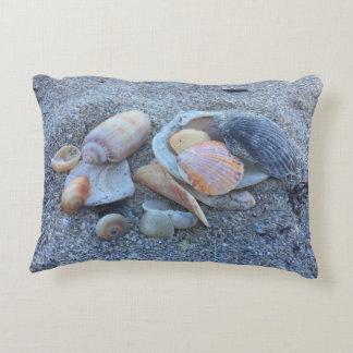 Sea Shells Paradise Beach Decorative Pillow