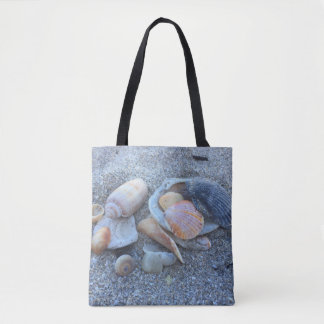 Sea Shells Paradise Beach Tote Bag