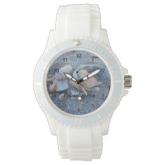 Sea Shells Paradise Beach Wristwatch