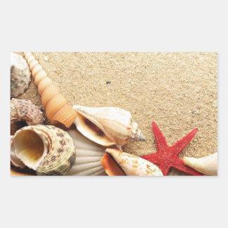 Sea Shells & Starfish Stickers