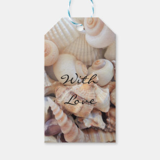 Sea Shells, Summer Beach Exotic Tropical Romantic Pack Of Gift Tags