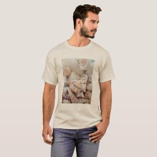 Sea Shells, Summer Beach Exotic Tropical Romantic T-Shirt