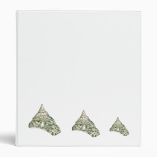 Sea Shells Vinyl Binder