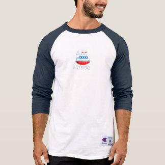 Sea, ships, lighthouses, T-Shirt