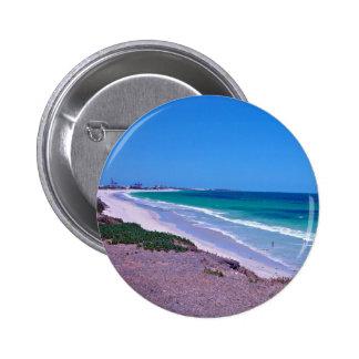 Sea shore 2 inch round button