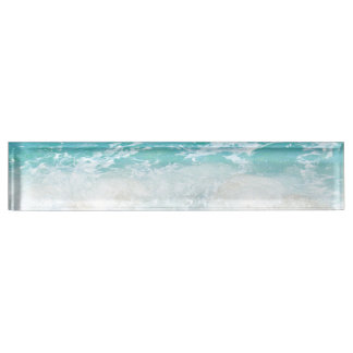 Sea shore name plate