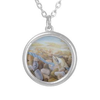 Sea Shore Silver Plated Necklace