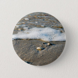 Sea side 2 inch round button